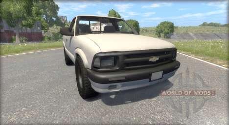 Chevrolet S-10 Draggin 1996 für BeamNG Drive