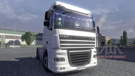 De l'intérieur pour DAF XF pour Euro Truck Simulator 2