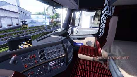Neue Innenausstattung für Volvo tagaca für Euro Truck Simulator 2