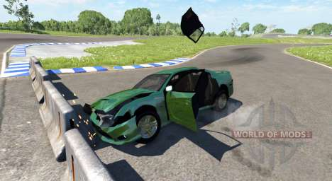 Dodge Charger SRT8 pour BeamNG Drive