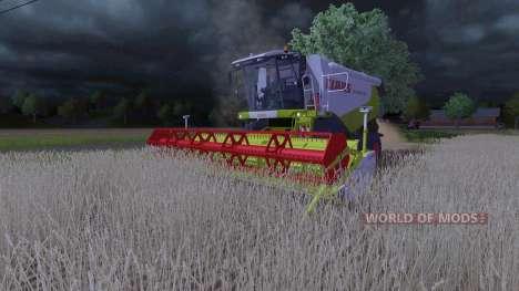 CLAAS Lexion 550 v2.5 pour Farming Simulator 2013