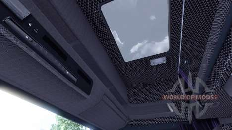Innenraum für Scania-Leder- für Euro Truck Simulator 2