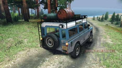 Land Rover Defender Series III v2.2 Blue pour Spin Tires