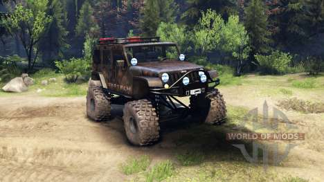 Jeep Wrangler Unlimited SID Fabtech für Spin Tires