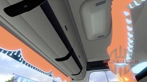 Nouvel intérieur pour l'HOMME tagaca pour Euro Truck Simulator 2
