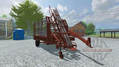 Pressage balles et des balles de ramassage pour Farming Simulator 2013