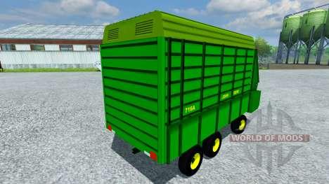 John Deere 716A pour Farming Simulator 2013