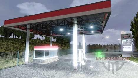 LA STATION-SERVICE ESSO pour Euro Truck Simulator 2