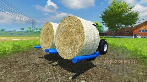 L'ensilage de balles rondes Goweil pour Farming Simulator 2013