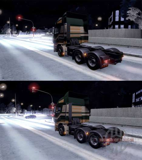 Volle winter für Euro Truck Simulator 2