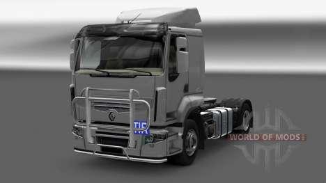 Aufkleber für Euro Truck Simulator 2