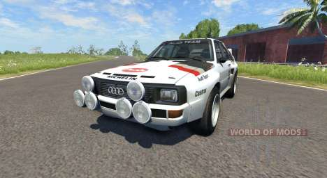 Audi Sport Quattro B2 (Typ 85Q) 1984 für BeamNG Drive