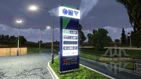 TANKSTELLE OMV für Euro Truck Simulator 2