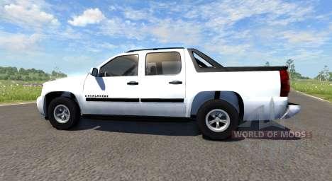 Chevrolet Avalanche für BeamNG Drive