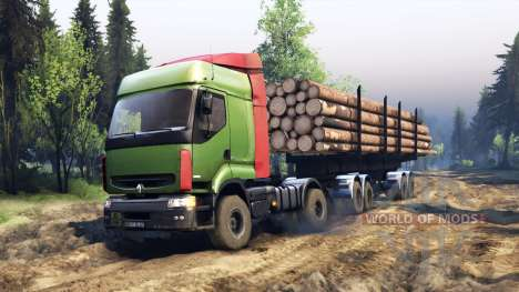Renault Premium Green pour Spin Tires