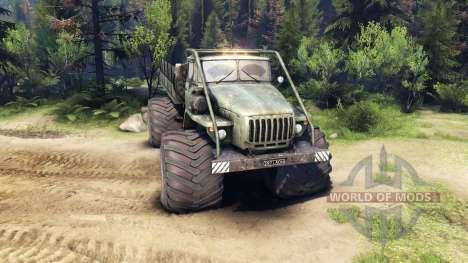 Ural-4320 Polarforscher v1.2 für Spin Tires