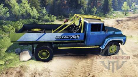 ЗиЛ-130 Rallycross für Spin Tires