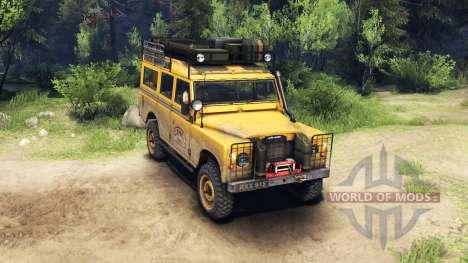 Land Rover Defender Series III v2.2 Camel Trophy für Spin Tires