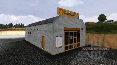 Shell-Tankstelle für Euro Truck Simulator 2