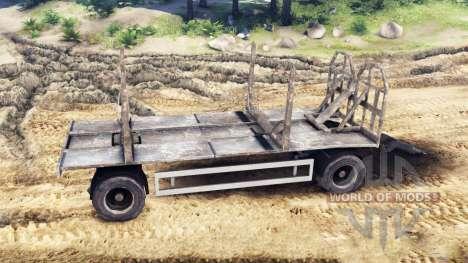 Trailer-Holz-MANN 19414 für Spin Tires