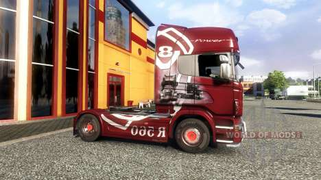 Farbe-R560 - LKW Scania für Euro Truck Simulator 2
