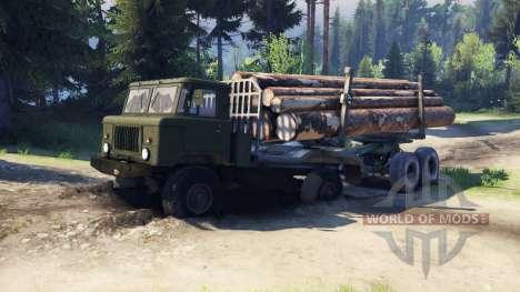 GAZ-66 camion :  pour Spin Tires