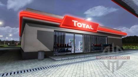 Les Stations Total pour Euro Truck Simulator 2
