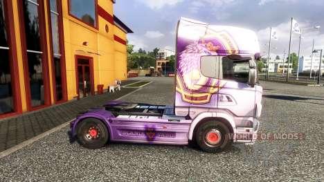 Couleur-R730 - camion Scania pour Euro Truck Simulator 2
