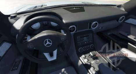 Mercedes-Benz SLS AMG pour BeamNG Drive