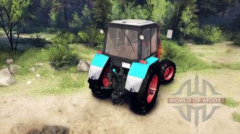 MTZ-1221 für Spin Tires