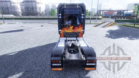 Couleur de la Fumée et de la Bandit - camion Sca pour Euro Truck Simulator 2