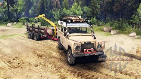 Land Rover Defender Series III v2.2 Sand für Spin Tires