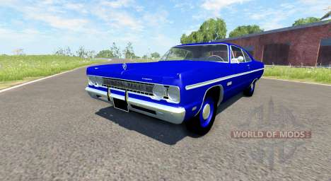 Plymouth Fury III 1969 für BeamNG Drive