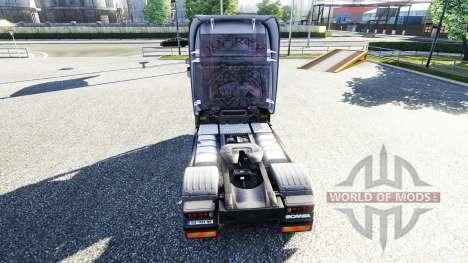 Couleur-Sébus Joker sur le tracteur Scania pour Euro Truck Simulator 2