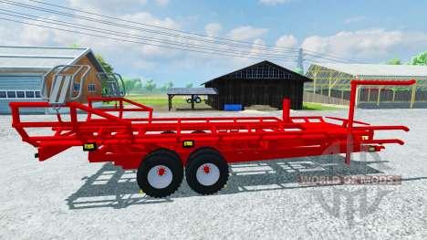 Die pick-up-Arcusin Rundballen RB Autostack für Farming Simulator 2013