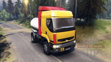 Renault Premium Yellow pour Spin Tires