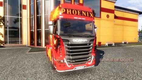 Farbe-Phoenix - Zugmaschine Scania für Euro Truck Simulator 2