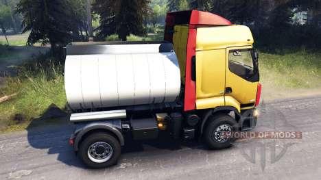 Renault Premium Yellow für Spin Tires