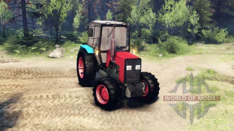 MTZ-1221 pour Spin Tires