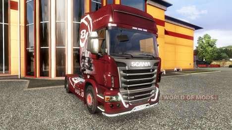Couleur-R560 - camion Scania pour Euro Truck Simulator 2