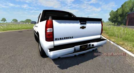 Chevrolet Avalanche pour BeamNG Drive