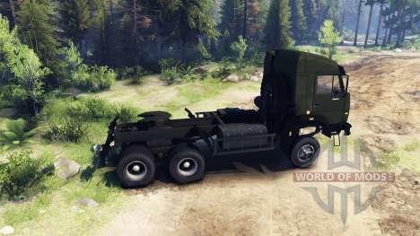 KamAZ-44108 pour Spin Tires