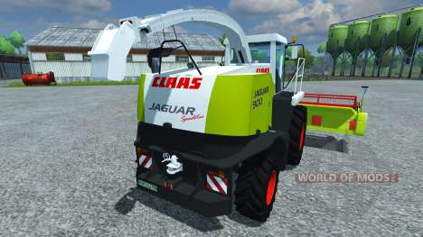 CLAAS Jaguar 900 Speedstar pour Farming Simulator 2013