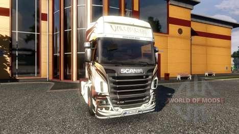 Color-Valcarenghi - camion Scania pour Euro Truck Simulator 2