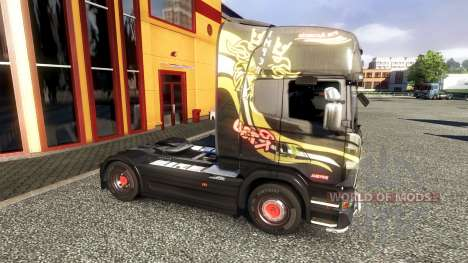 Couleur-R730 F.lli Acconcia - camion Scania pour Euro Truck Simulator 2