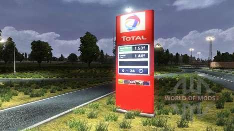 Stationen Insgesamt für Euro Truck Simulator 2