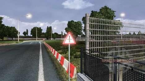 Russische Verkehrszeichen für Euro Truck Simulator 2