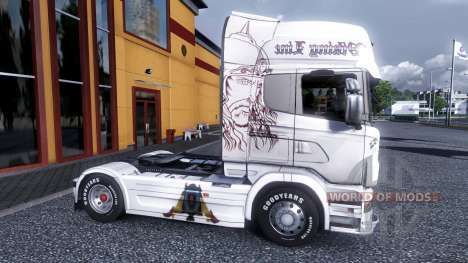 Farbe-Viking Line - für Scania LKW für Euro Truck Simulator 2