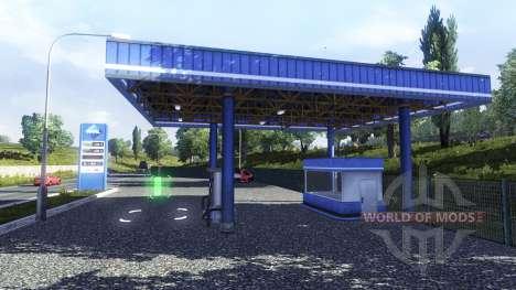 Tankstelle, Aral für Euro Truck Simulator 2