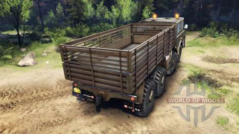 Tatra 813 8x8 KOLOS v1.1 pour Spin Tires